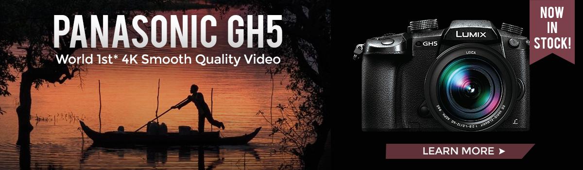 Panasonic-GH5-In-Stock
