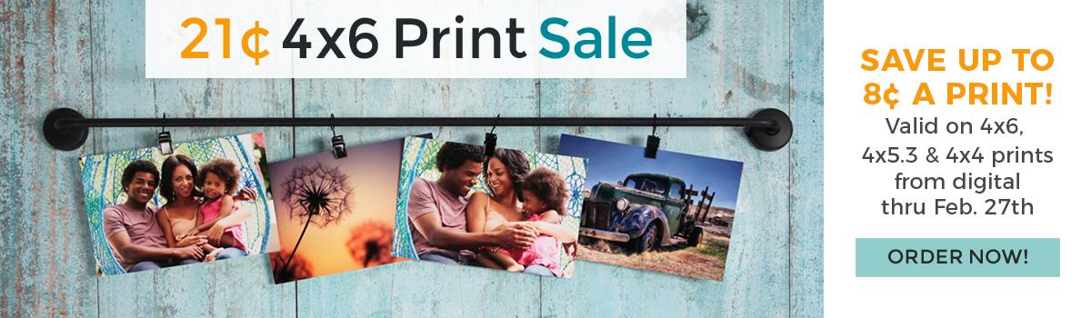 21-cent Print Banner