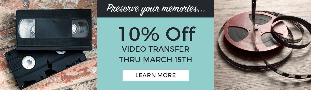 Video Transfer Banner