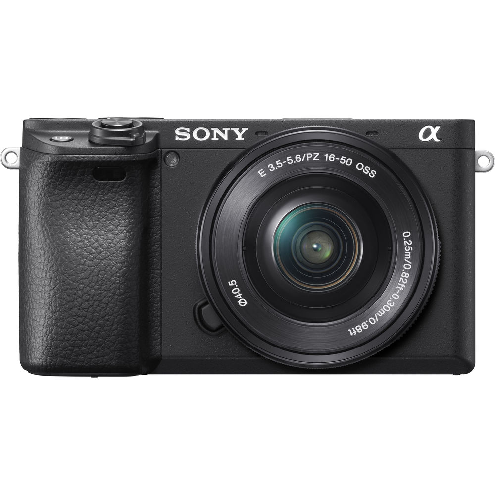 Sony Alpha a6400 24.2MP Digital Mirrorless Camera with 16-50mm Lens