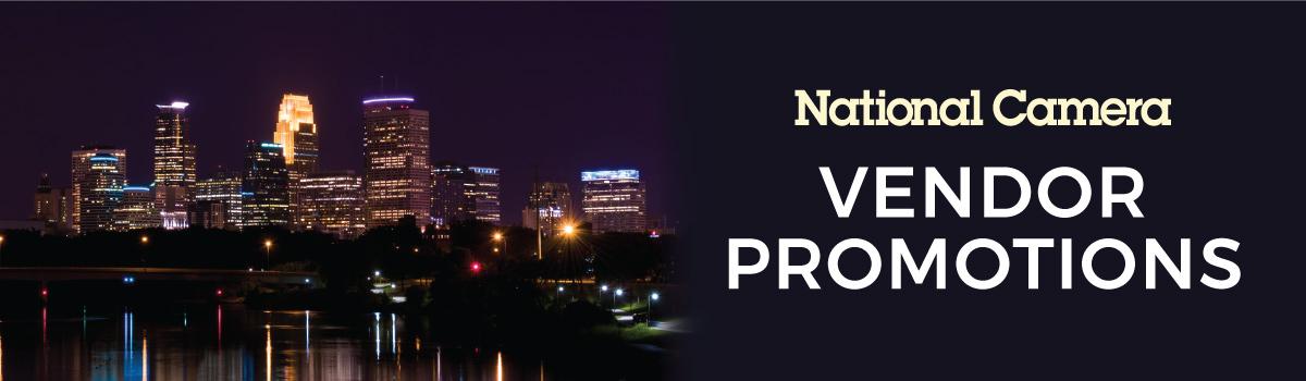 National Camera Vendor Promotions