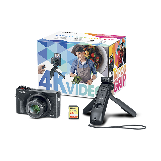 Canon PowerShot G7 X Mark III Digital Camera Video Creator Kit