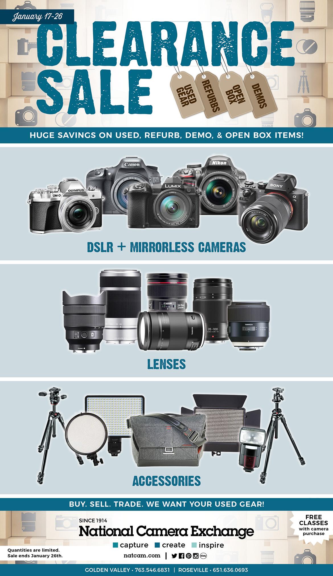 Used Clearance Sale • January 17-26