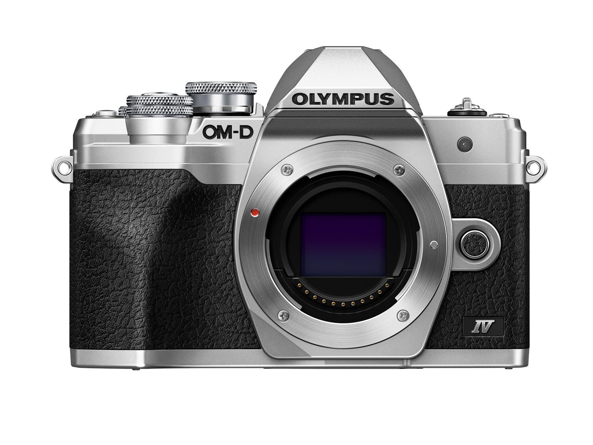 Olympus OM-D E-M10 Mark IV Silver Body