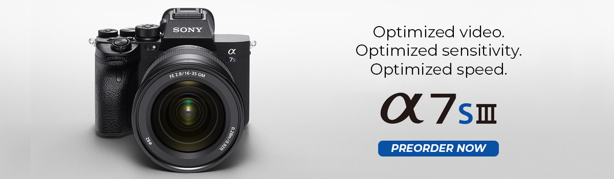 sony a7siii hp banner