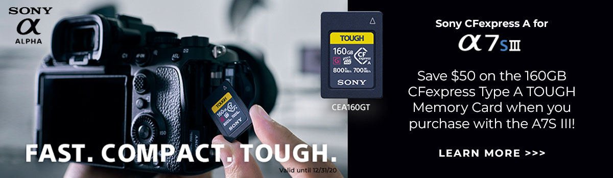 sony cfexpress a7siii hp
