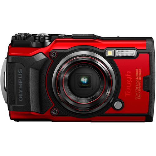 Olympus Tough TG-6 Digital Camera Red V104210RU000