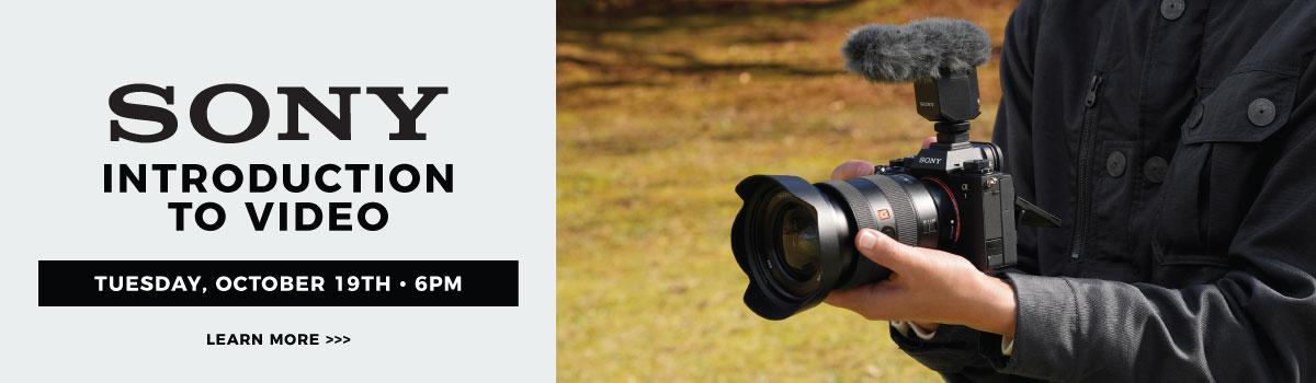 sony intro video webinar hp banner
